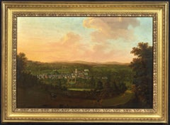 A panoramic prospect of Plympton, Devon