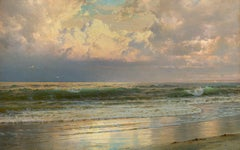 Coastal Landscape at Dawn
