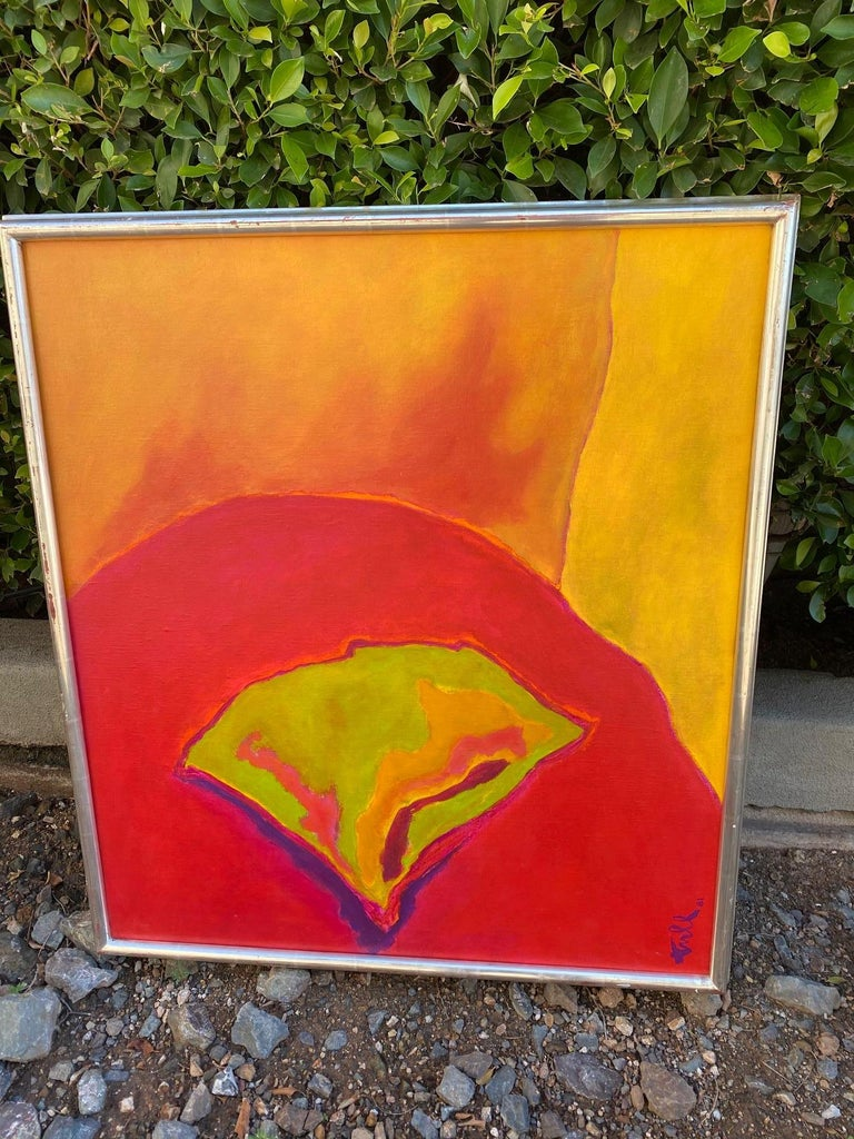 American William Tull Abstract Flower For Sale
