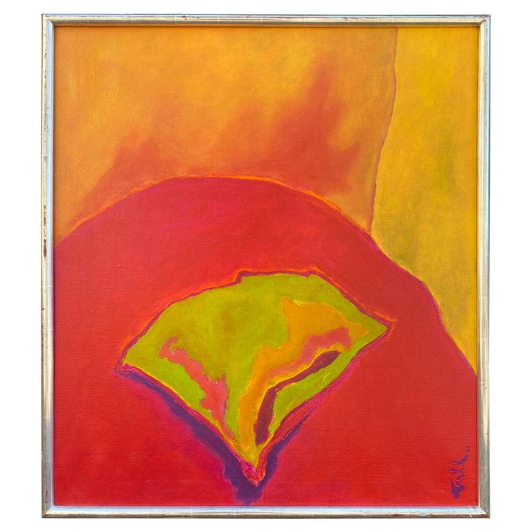 William Tull Abstract Flower For Sale