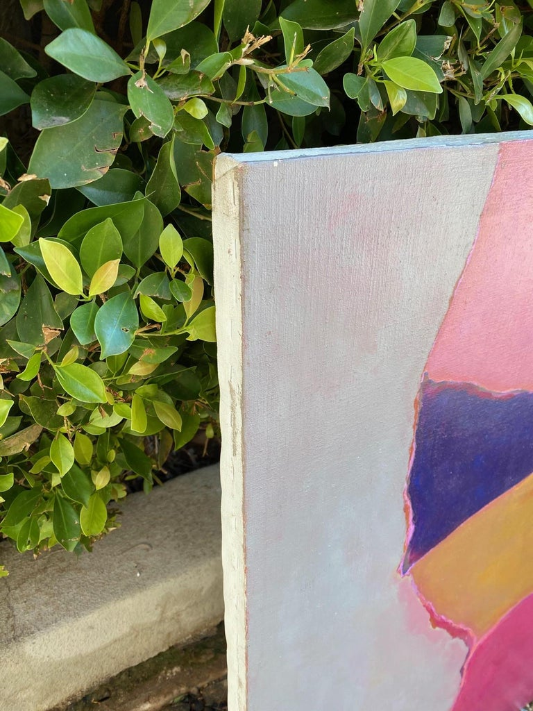 20th Century William Tull Abstract Painting For Sale