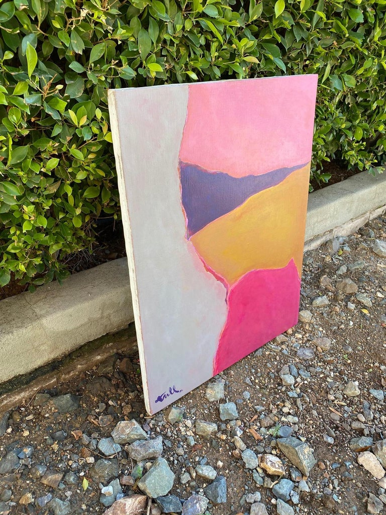 Acrylic William Tull Abstract Painting For Sale