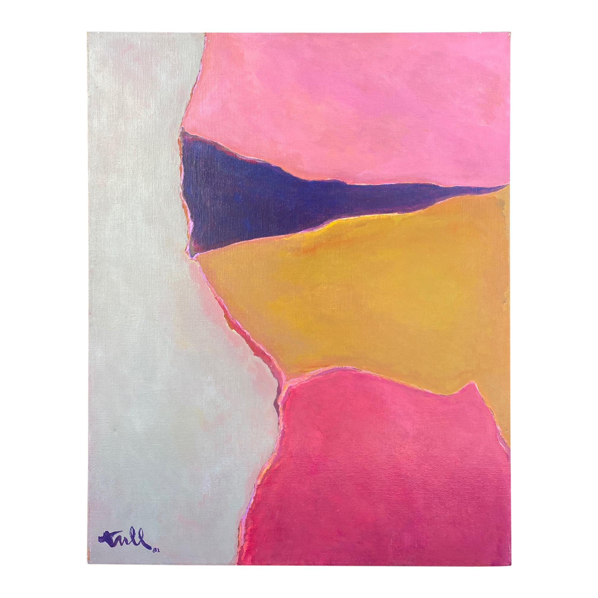 William Tull Abstract Painting