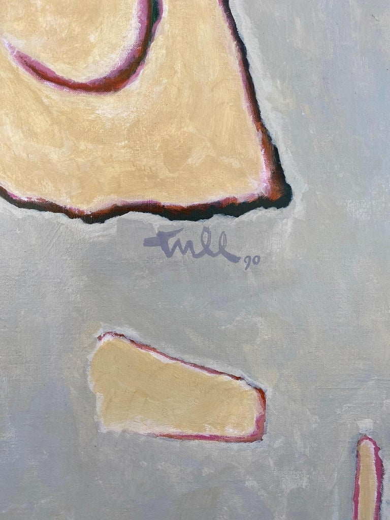 Expressionist William Tull Painting For Sale