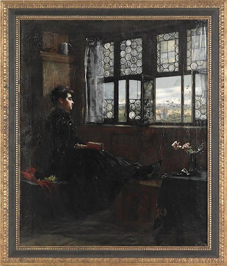 Untitled - Painting by William Verplank Birney