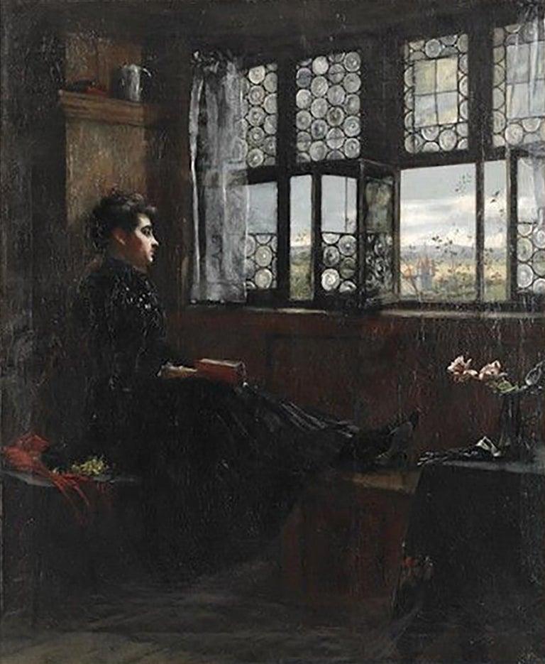 William Verplank Birney Interior Painting - Untitled