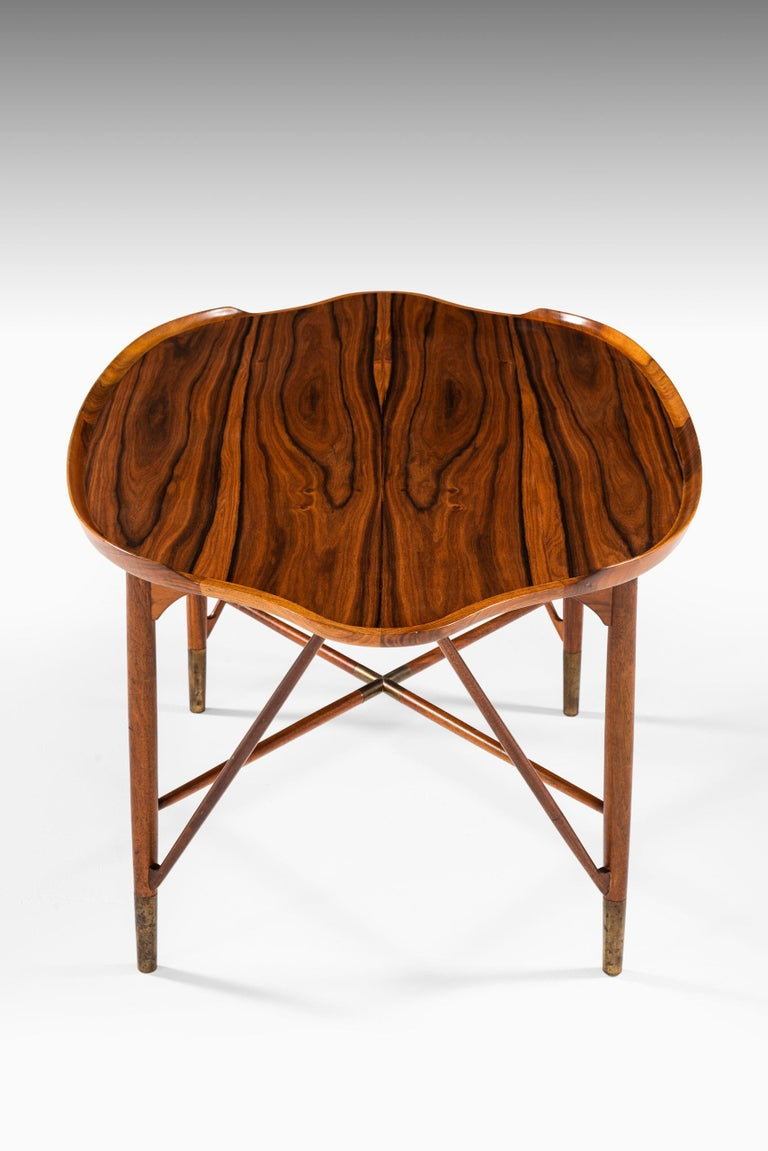 Mid-20th Century William Watting Coffee Table Produced by Cabinetmaker Michael Laursen in Denmark For Sale