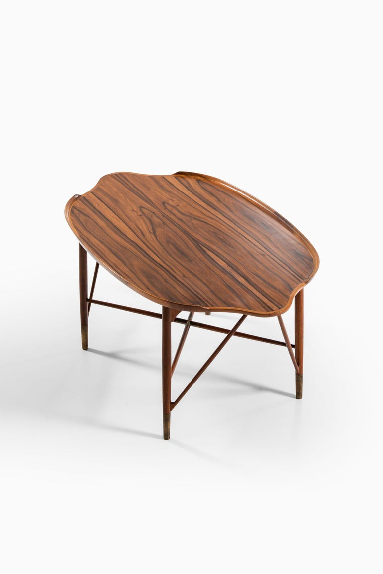 William Watting Coffee Table Produced by Cabinetmaker Michael Laursen in Denmark For Sale 1