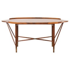 William Watting Coffee Table Produced by Cabinetmaker Michael Laursen in Denmark