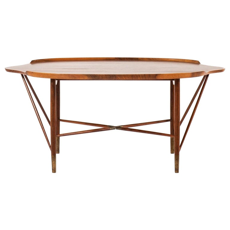 William Watting Coffee Table Produced by Cabinetmaker Michael Laursen in Denmark For Sale