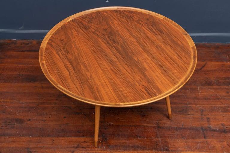 Mid-20th Century William Watting Round Danish Coffee Table For Sale