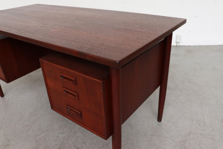 William Watting Style Floating Top Desk For Sale 3