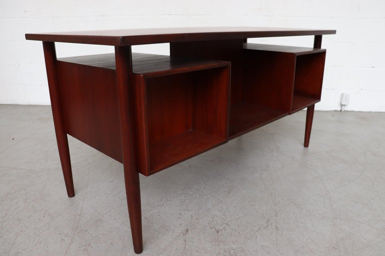 William Watting Style Floating Top Desk For Sale 7