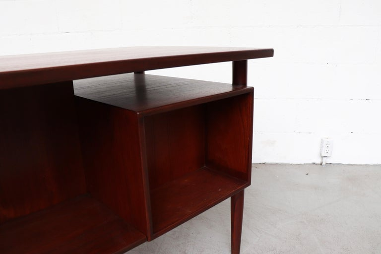 William Watting Style Floating Top Desk For Sale 8