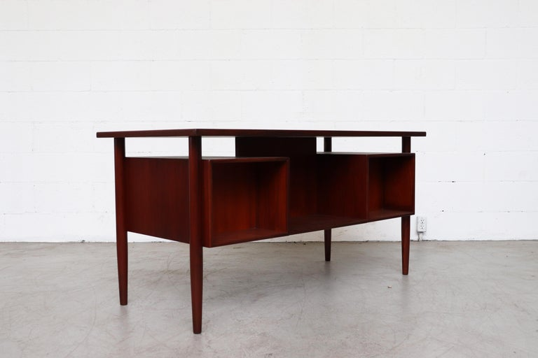 Dutch William Watting Style Floating Top Desk For Sale