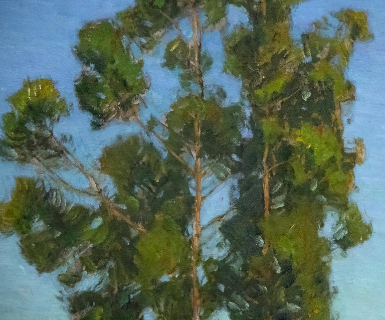 Spring - Green Landscape Painting by William Wendt