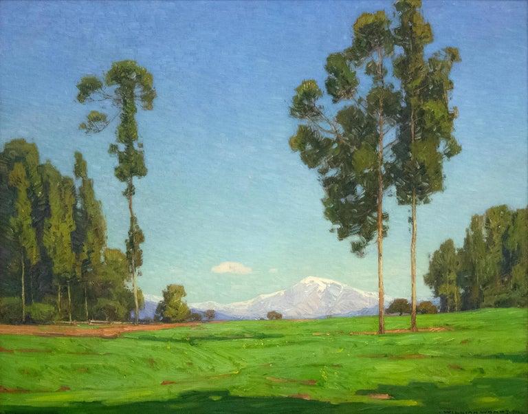 William Wendt Landscape Painting - Spring