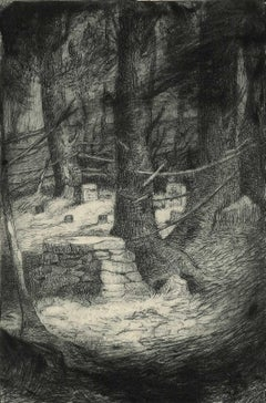 Moonlight Glade (small private burial ground in New England)