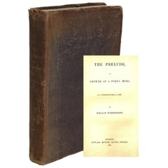 William Wordsworth's The Prelude, First Edition 1850