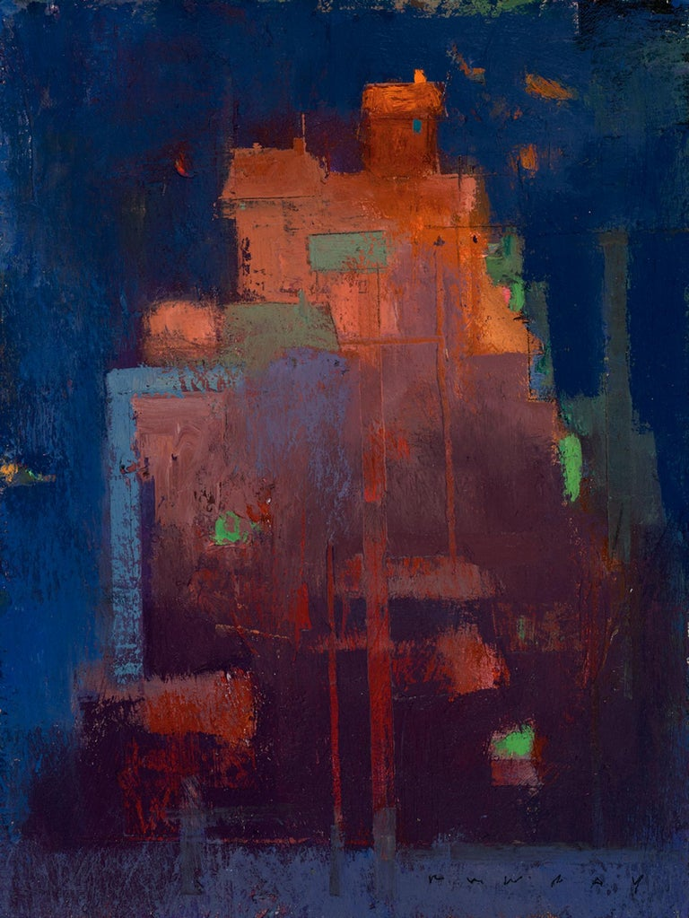 William Wray Abstract Painting - Long Way to the Top
