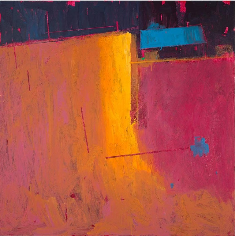 William Wray Abstract Painting Top Of The Bottom
