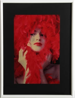 """Lady in Red"", Fashion Photograph by Willie Miller"