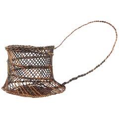 Willow Basket Capponara Shoulder Belt, Portego, Handmade in Italy