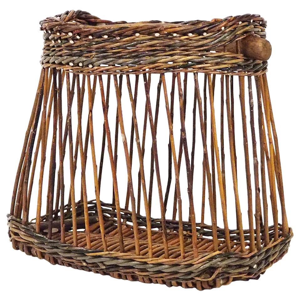 Willow Basket Niche, Portego, Handmade in Italy