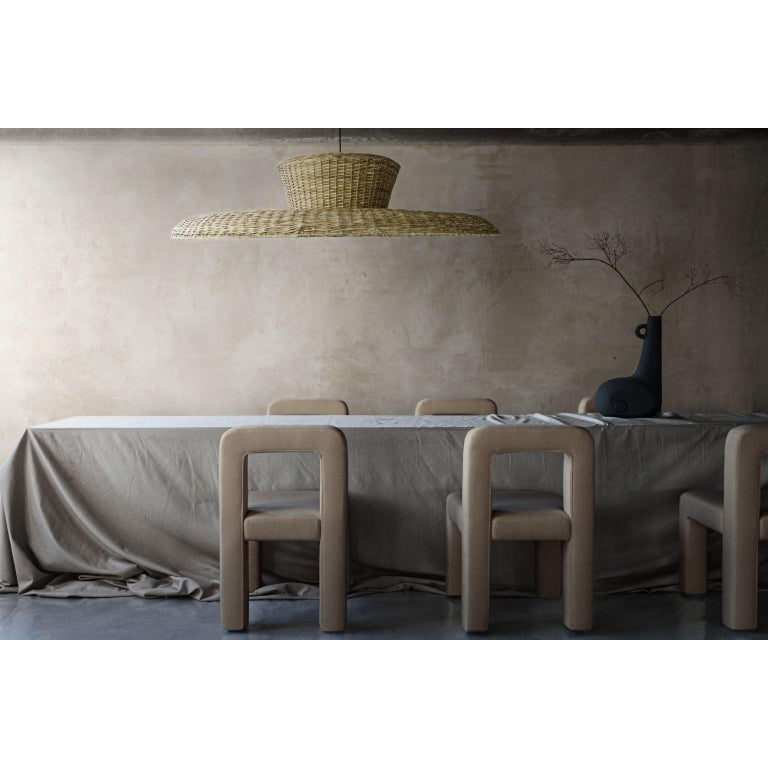 Ukrainian Willow Contemporary Table Lamp by FAINA For Sale