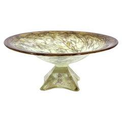 Willsea & O'brien Modern Art Glass Bowl