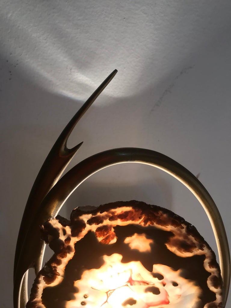 Belgian Willy Daro Table Lamp For Sale