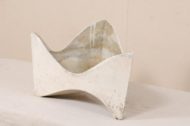 Willy Guhl Abstract Triangular Eternite Planter, Mid-Century For Sale 3