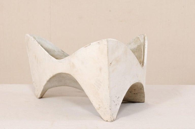 Swiss Willy Guhl Abstract Triangular Eternite Planter, Mid-Century For Sale