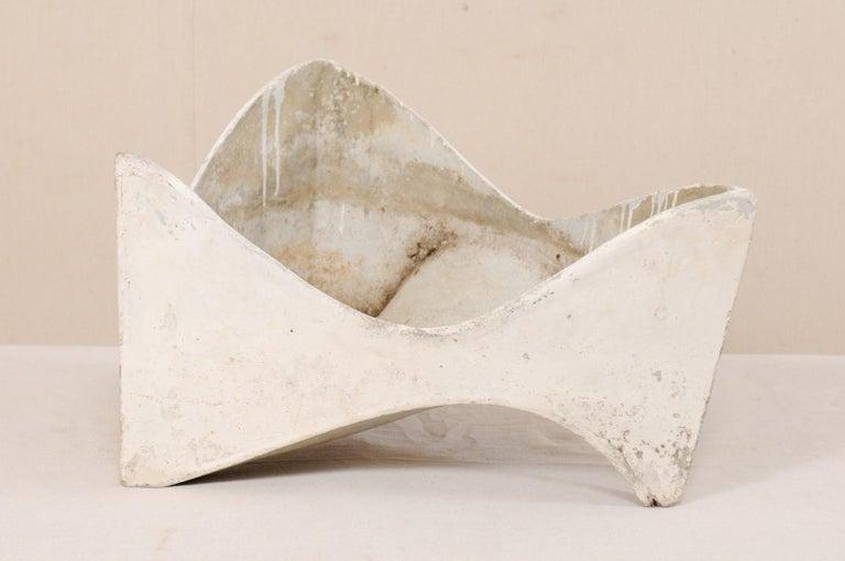 Willy Guhl Abstract Triangular Eternite Planter, Mid-Century For Sale 2