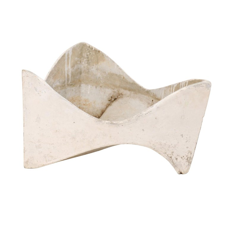 Willy Guhl Abstract Triangular Eternite Planter, Mid-Century For Sale