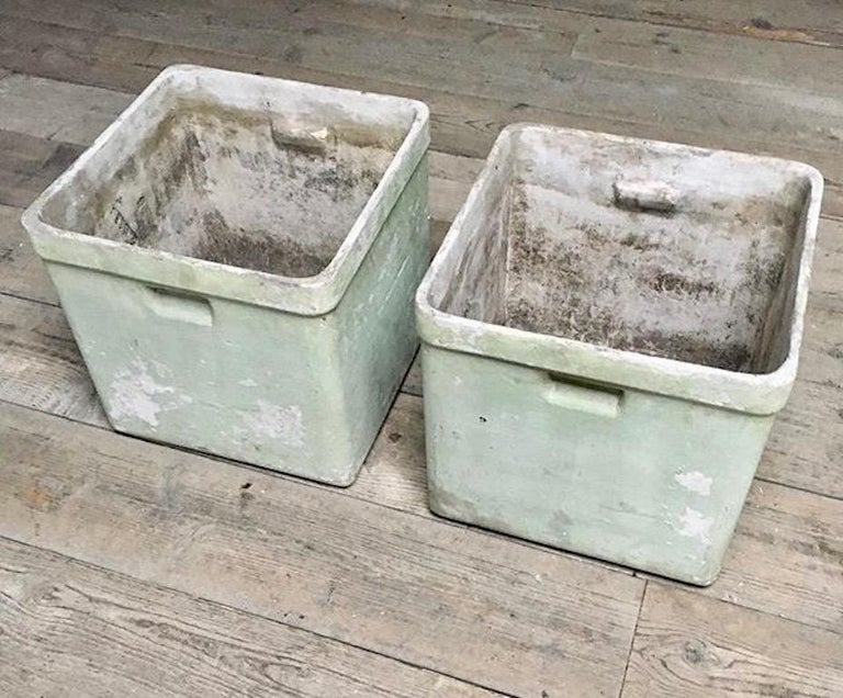 Willy Guhl Box Planters In Good Condition For Sale In Los Angeles, CA