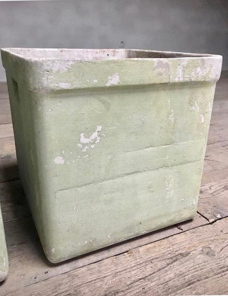 Cement Willy Guhl Box Planters For Sale
