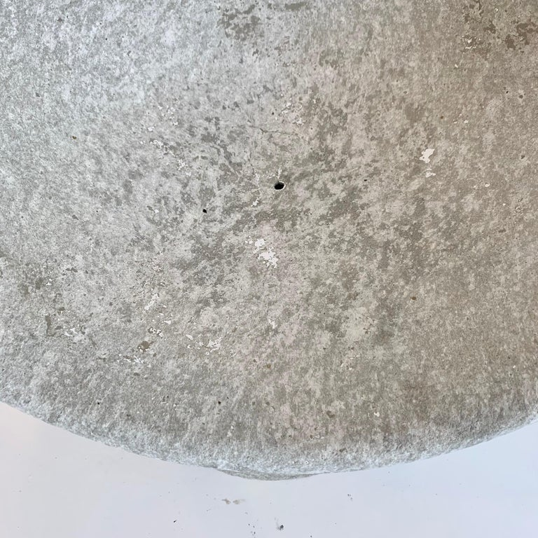 Willy Guhl Concrete Pod Chair 2