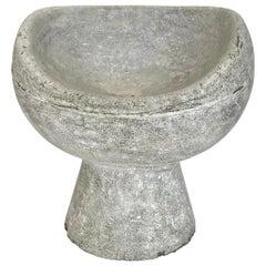 Willy Guhl Concrete Pod Chair