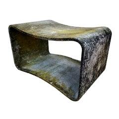 Willy Guhl Concrete Stool