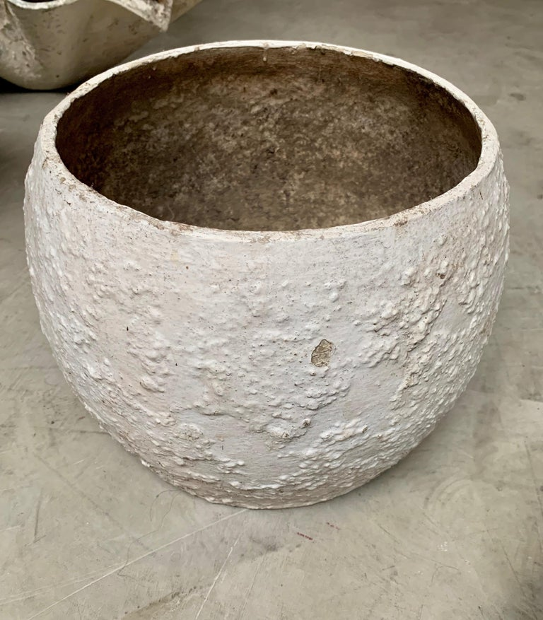 Willy Guhl Concrete Vases For Sale 1