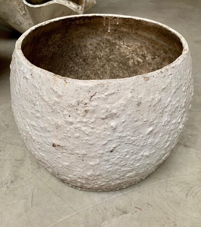 Willy Guhl Concrete Vases For Sale 3