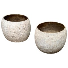 Willy Guhl Concrete Vases