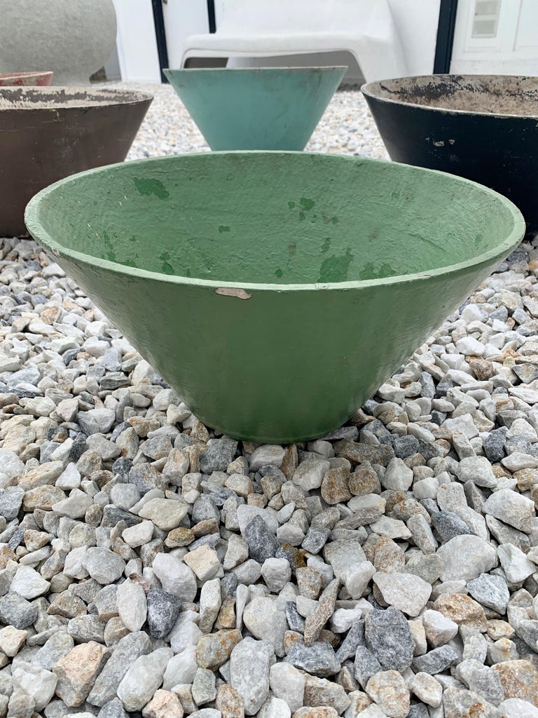 Willy Guhl Cone Shaped Planters For Sale 1