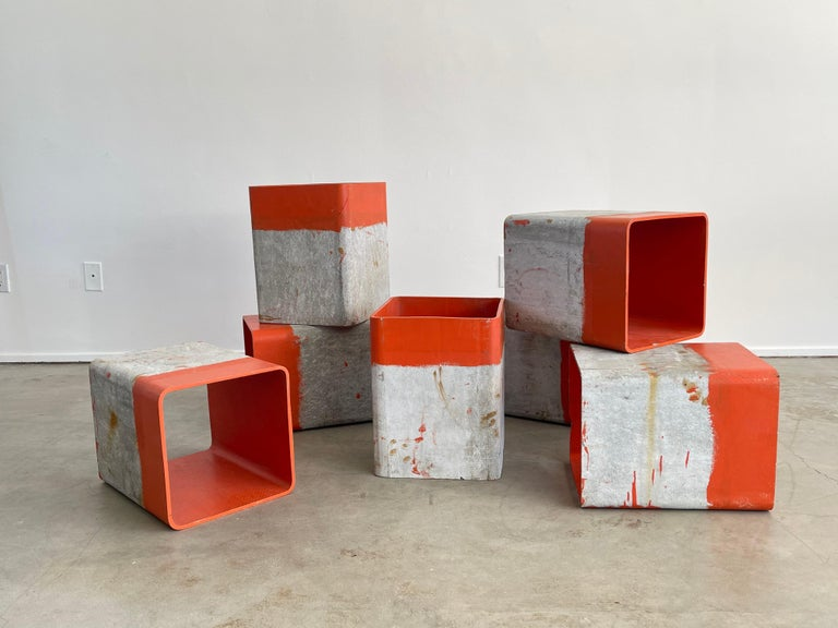 Willy Guhl Cubes In Good Condition For Sale In Los Angeles, CA