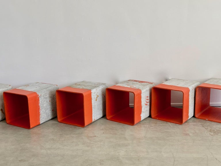 Mid-20th Century Willy Guhl Cubes For Sale