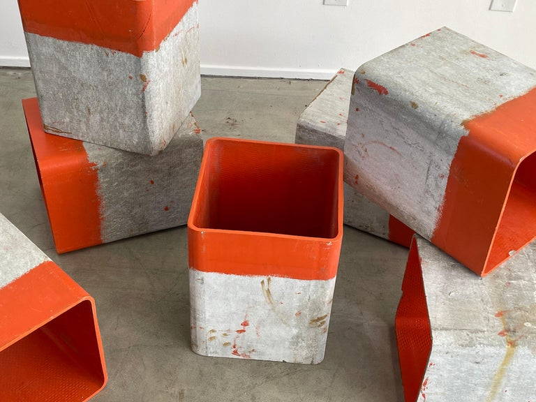 Cement Willy Guhl Cubes For Sale