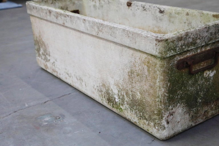 Willy Guhl for Eternit Large Rectangular Planter with Handles, circa 1968 For Sale 5