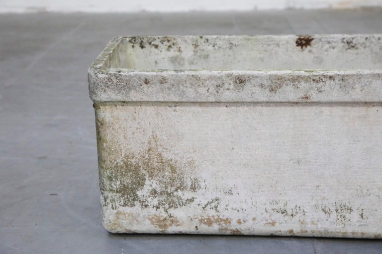 Willy Guhl for Eternit Large Rectangular Planter with Handles, circa 1968 For Sale 8
