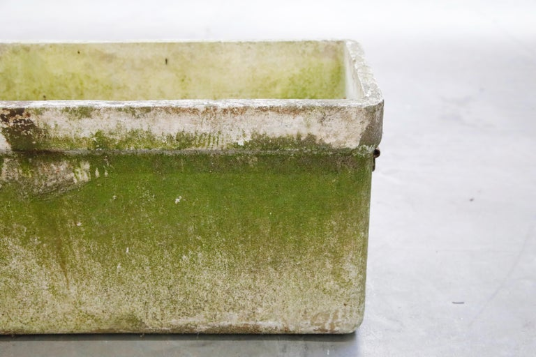 Willy Guhl for Eternit Large Rectangular Planter with Handles, circa 1968 For Sale 9
